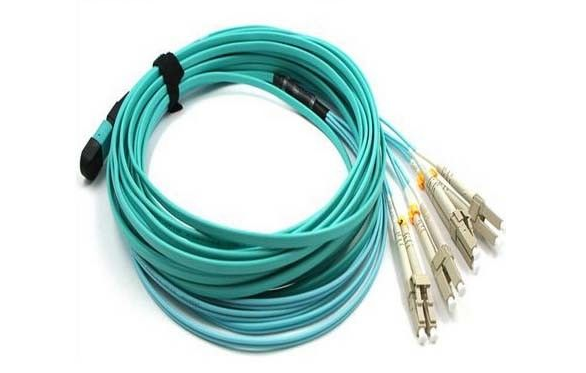 MTP-LC OM3 Fanout Cable